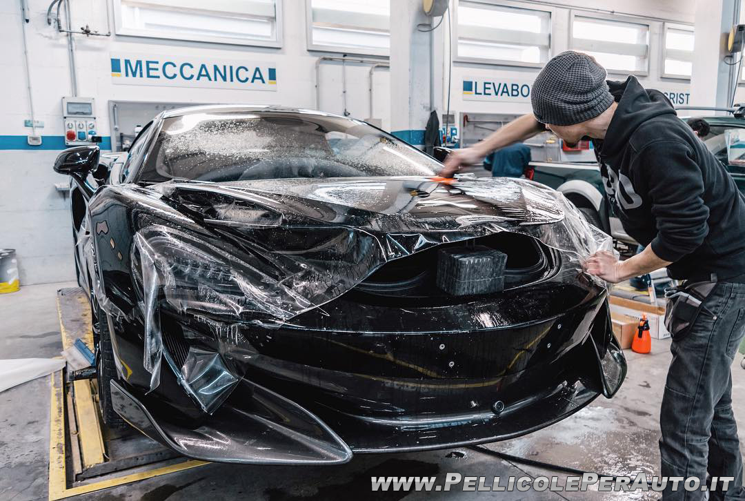 McLaren - Pellicole Paintprotectionfilm - 1CAR
