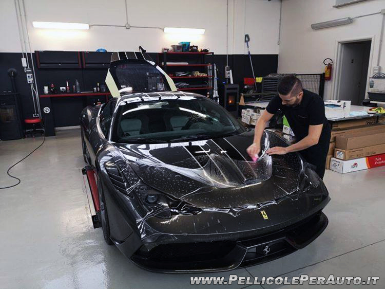 Ferrari - Pellicole Paintprotectionfilm - 1CAR